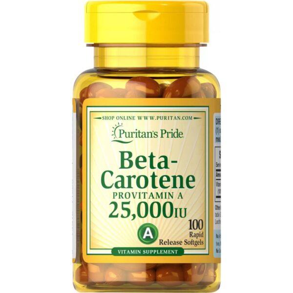 Betacaroten 25000 IU-100 capsule