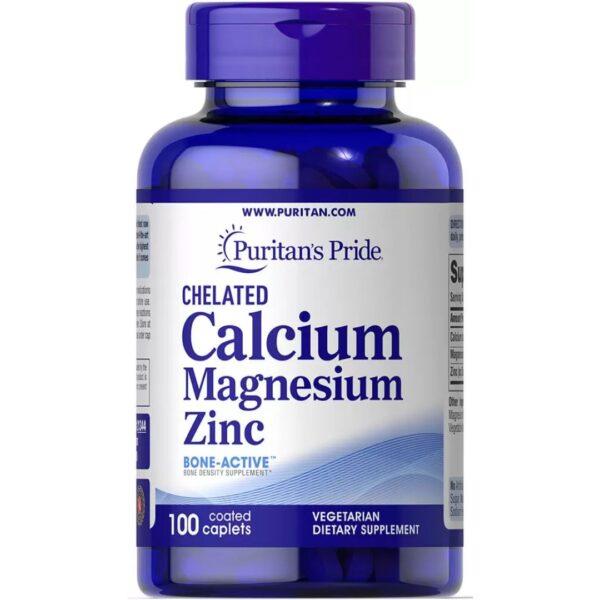 Calciu Magneziu Zinc-100 comprimate