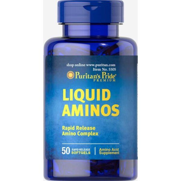 Complex de aminoacizi Liquid Aminos-50 capsule