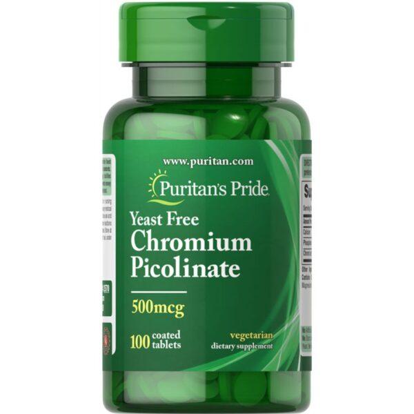 Crom picolinat 500mcg-100 tablete