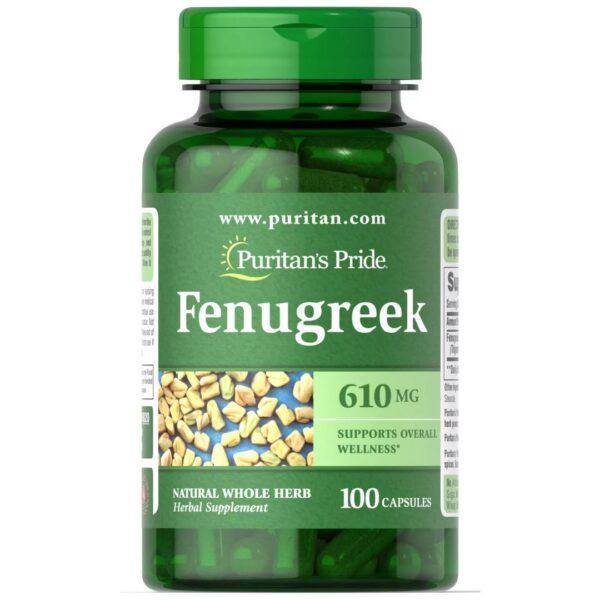 Fenugreek Schinduf 610 mg-100 capsule