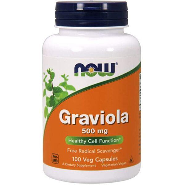 Graviola 500 mg-100 capsule