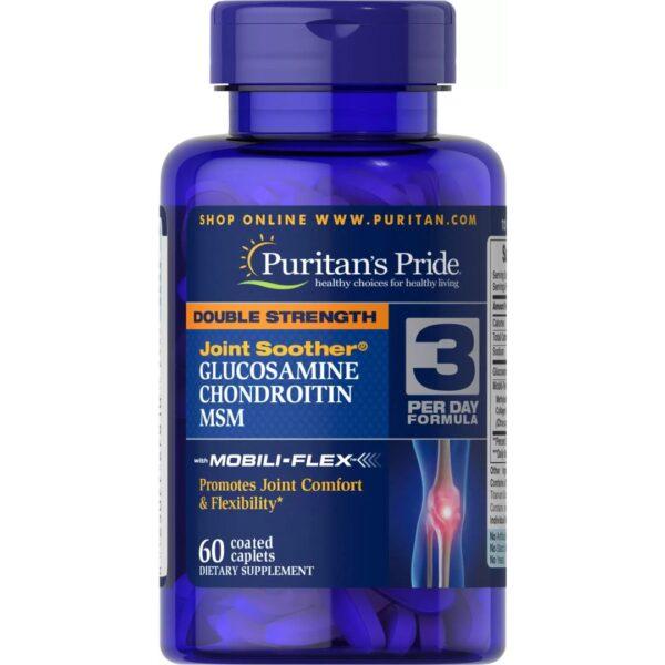 Dublu Glucozamina Condroitina & MSM-60 comprimate