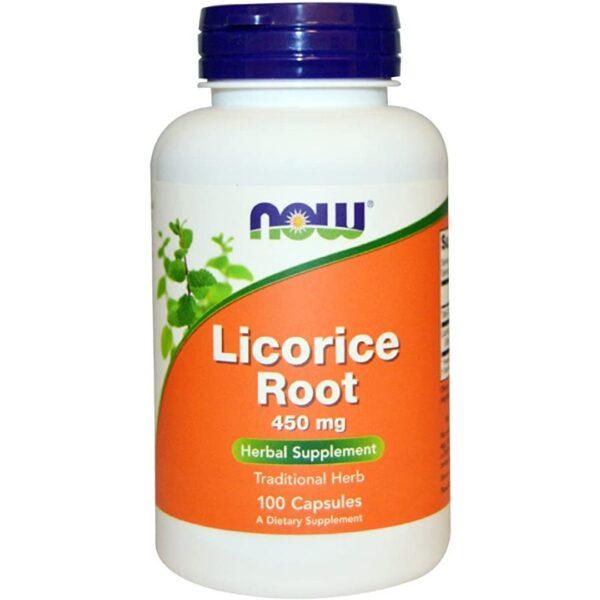Licorice Radacina 450 mg-100 capsule