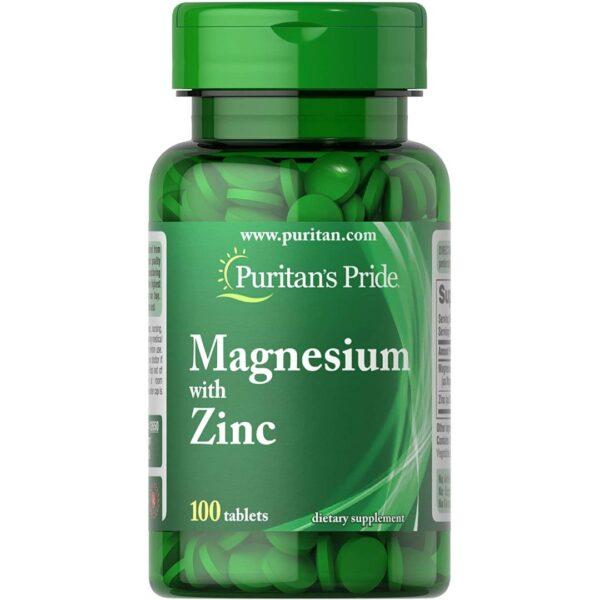 Magneziu cu Zinc-100 tablete