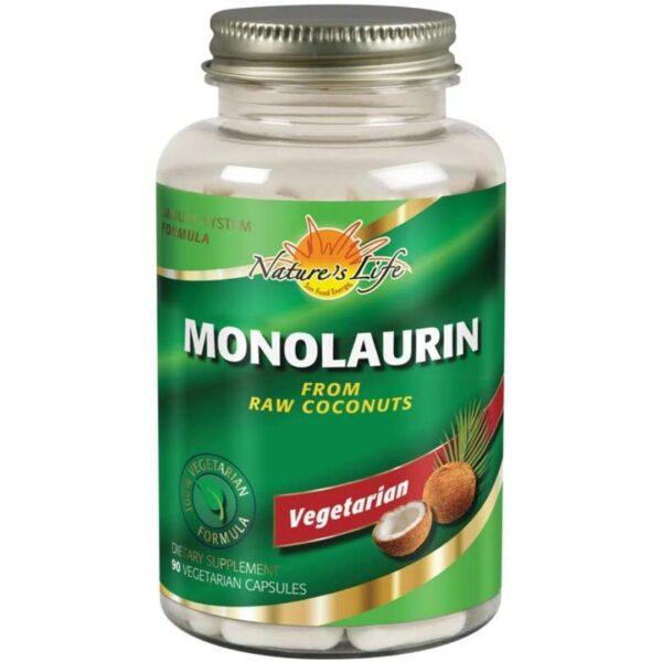 Monolaurin 100% Vegetarian NUCA COCOS-90 capsule