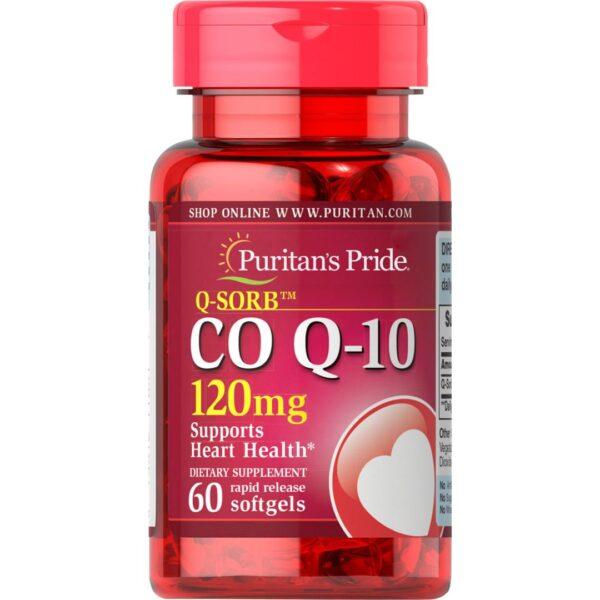 Coenzima Q 10 120 mg-60 capsule
