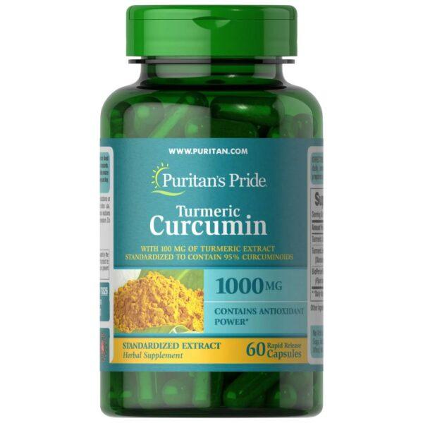 Turmeric Curcumin 1000 mg cu Bioperine-60 capsule