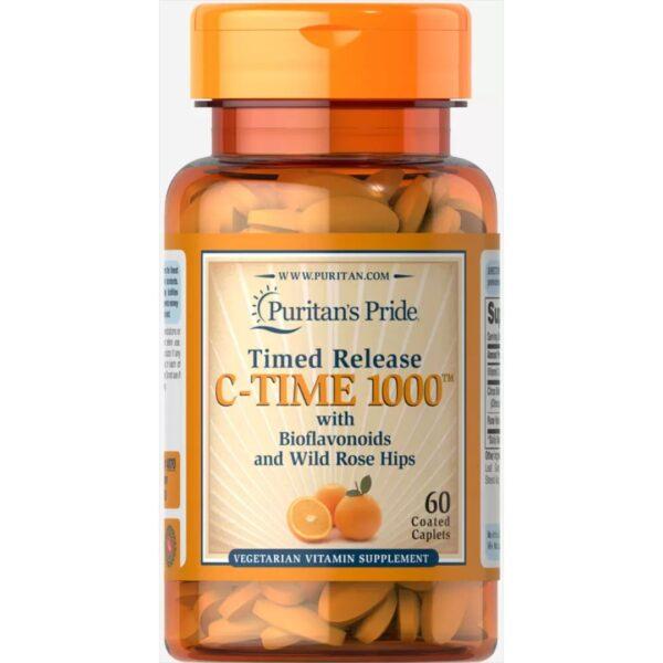 Vitamina C 1000 mg Eliberare prelungita-60 comprimate