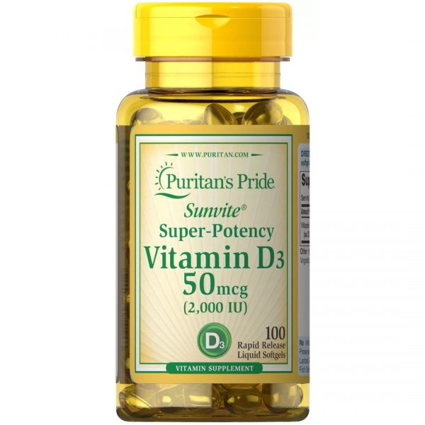 Vitamina D 3 2000 IU-100 capsule