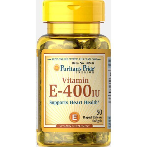 Vitamina E 400 IU-50 capsule