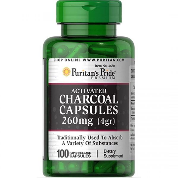 Carbune Activ 260 mg Charcoal-100 capsule