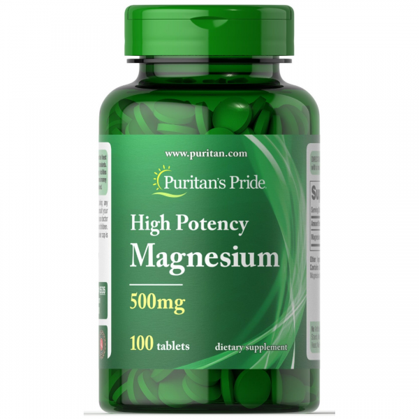 Magneziu 500 mg-100 tablete