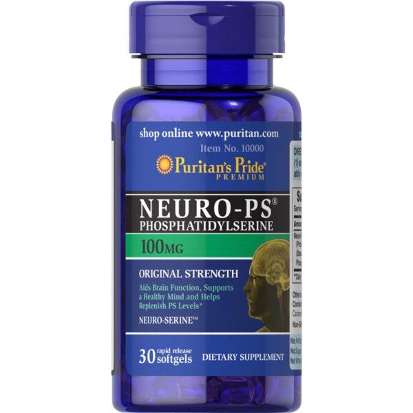 Neuro PS Fosfatidilserina 100 mg-30 capsule