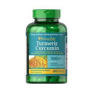 Turmeric Curcuma 500 mg-180 capsule