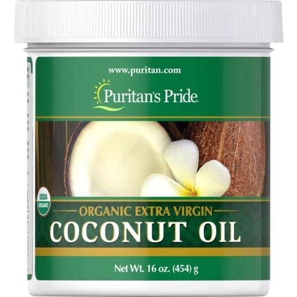 Ulei de Cocos Extra Virgin Organic-454 g