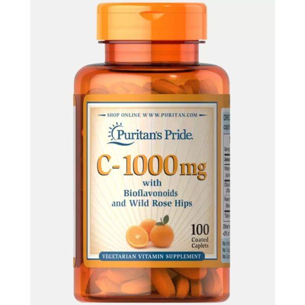 Vitamina C 1000 mg-100 comprimate