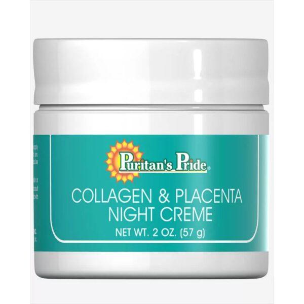Crema cu Colagen si Placenta(noapte)-57 g