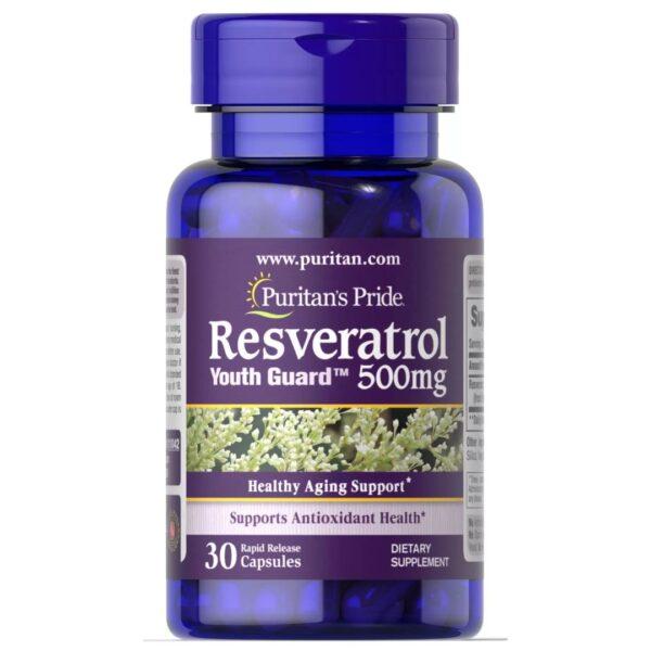 Resveratrol 500 mg-30 capsule