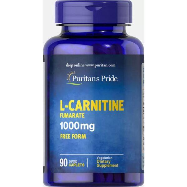 L Carnitina Fumarata 1000 mg-90 comprimate