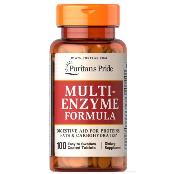 Multi Enzime Formula-100 tablete