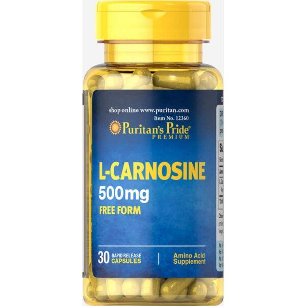 L-Carnosina 500mg-30 capsule