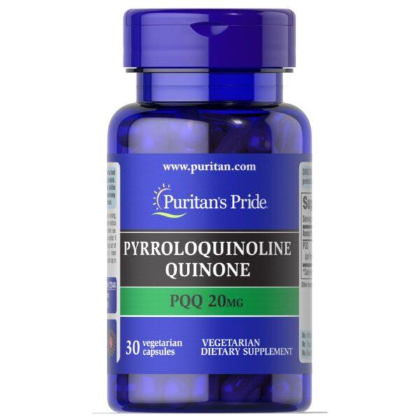 PQQ Pirolochinolină chinonă 20 mg-30 capsule