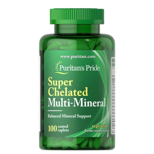 Multi Minerale super chelate-100 tablete