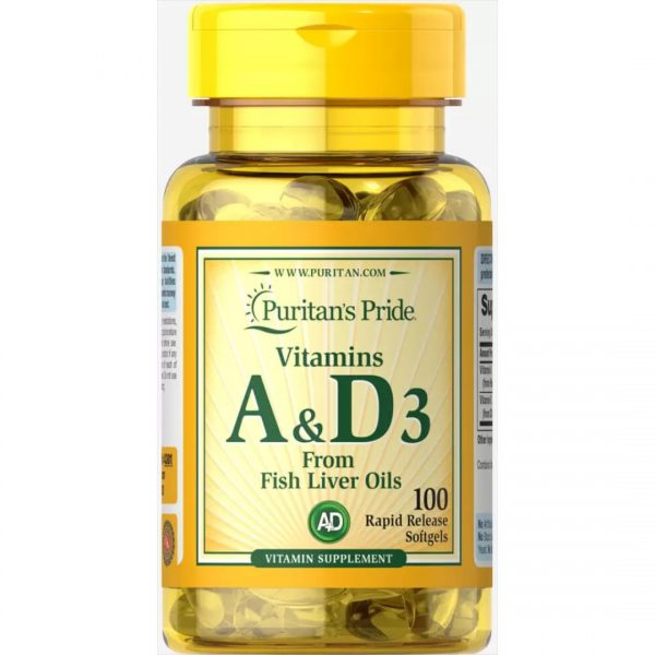 Vitamina A si Vitamina D-100 capsule
