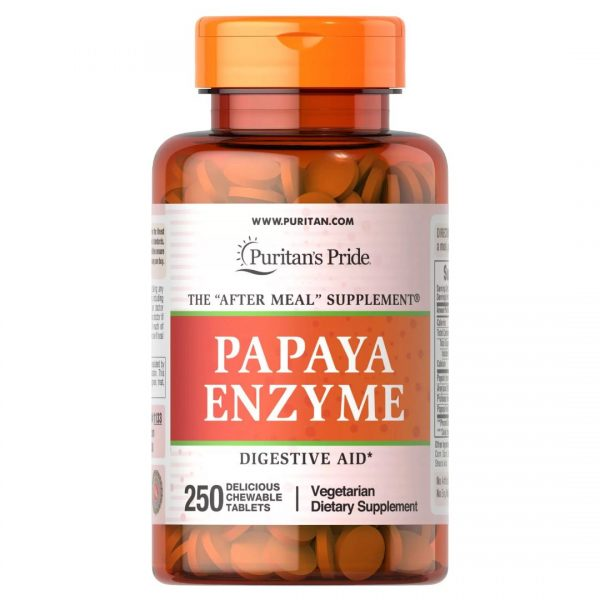 Enzime de Papaya-250 masticabile