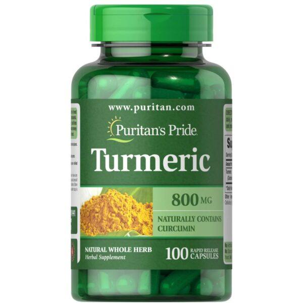 Turmeric (Curcuma) 800 mg-100 capsule