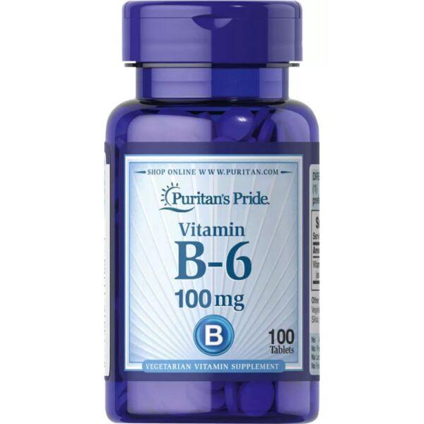 Vitamina B 6(Piridoxina) 100 mg-100 tablete