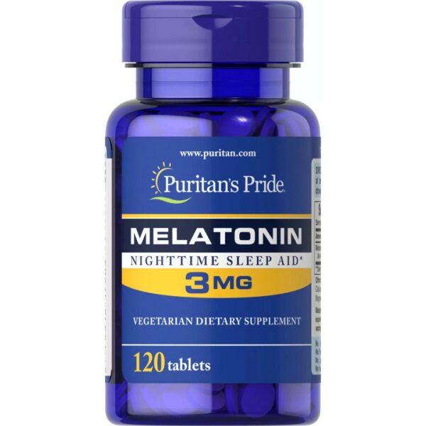 Melatonina 3 mg-120 tablete