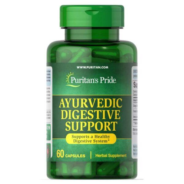 Ayurvedic Digestiv cu Ghimbir,Fenicul și Amla-60 capsule