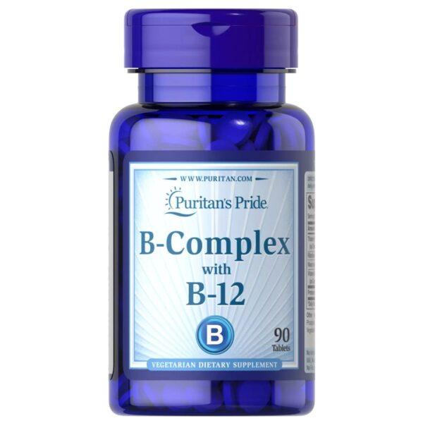 Vitamina B Complex si Vitamina B 12-90 tablete