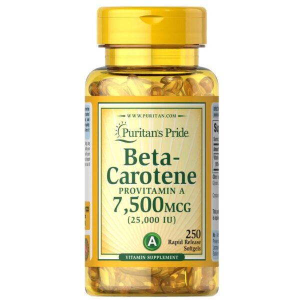 Betacaroten 25000 IU-250 capsule