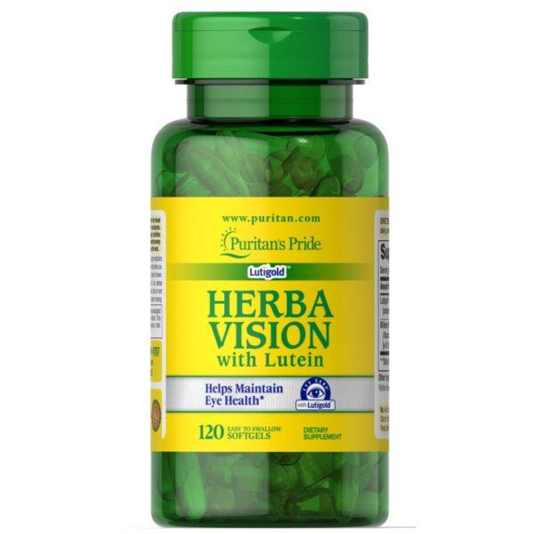Herbavision cu Luteina Zeaxantina si Afine-120 capsule