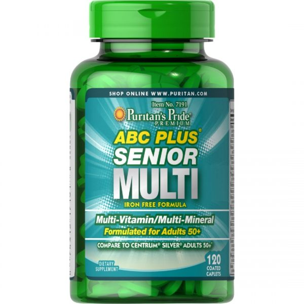 ABC Plus Senior Formula-120 comprimate