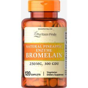 Enzime Ananas Bromelaina 250 mg-120 tablete