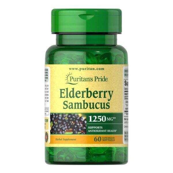 Extract din fructe de soc(Elderberry Sambucus)-60 capsule