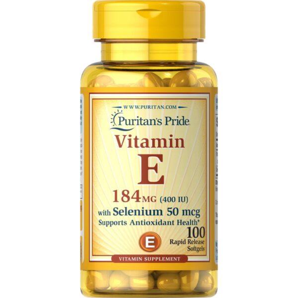 Vitamina E cu Seleniu-100 capsule