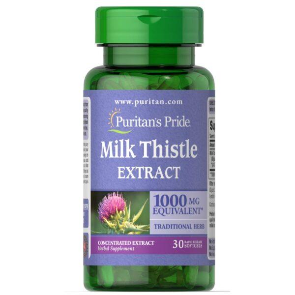 Silimarina 1000 mg Milk Thistle-30 capsule