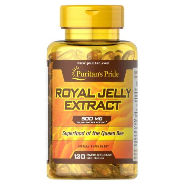 Laptisor de Matca Royal Jelly 500 mg-120 capsule