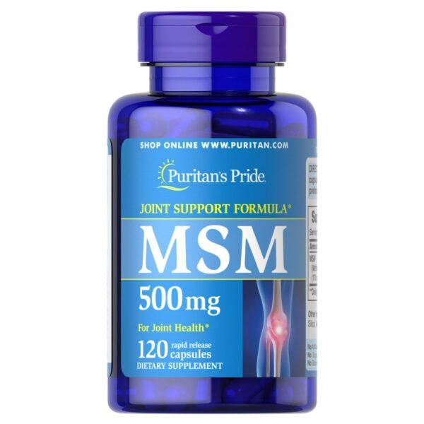 MSM 500 mg-120 capsule