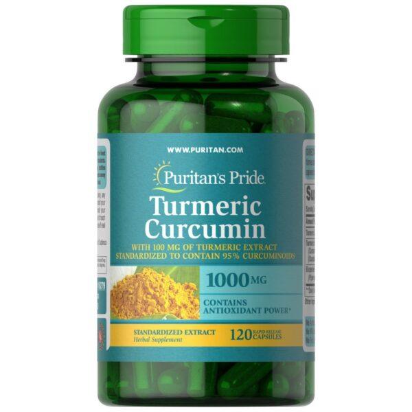 Turmeric Curcumin 1000 mg cu Bioperine-120 capsule