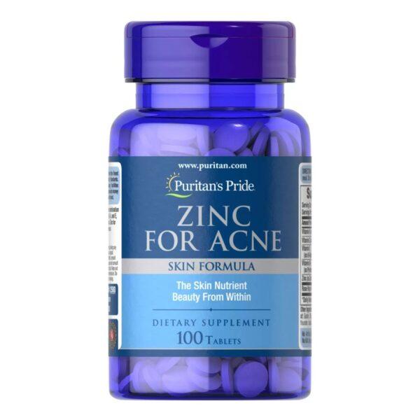 Zinc pentru Acnee-100 tablete