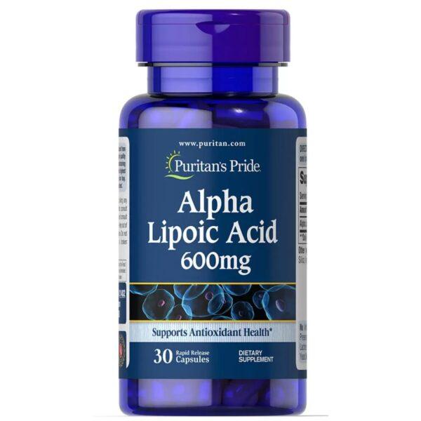 Acid Alfa Lipoic 600 mg-30 capsule