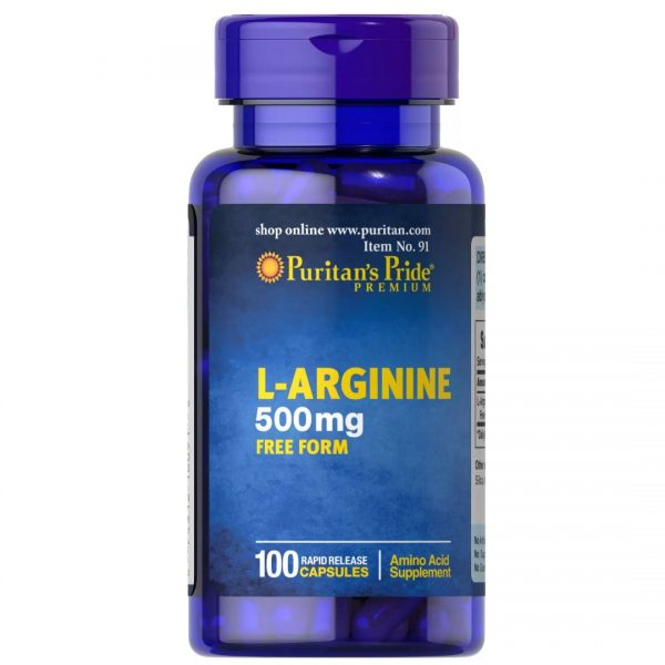 Arginina 500 mg -100 capsule