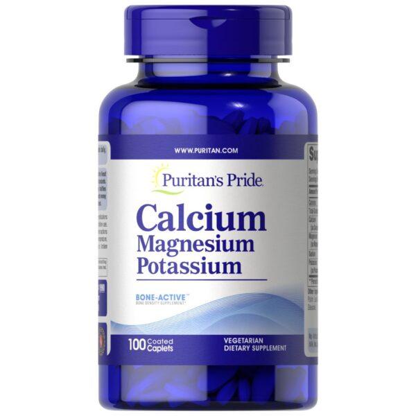Calciu Magneziu si Potasiu-100 comprimate