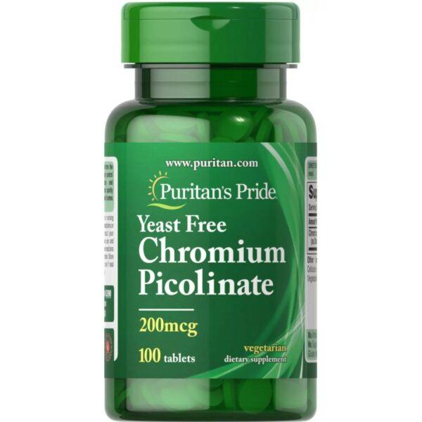 Crom picolinat 200 mcg-100 tablete